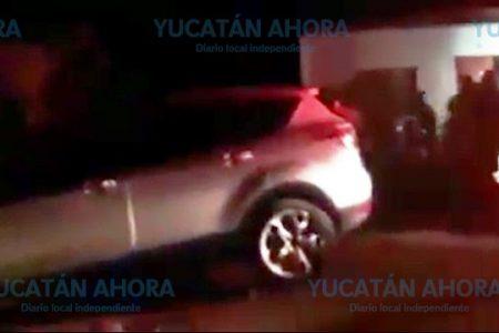 Brote de violencia electoral en Calotmul, apedrean camioneta de candidata