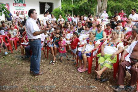 Voy a trabajar por toda la gente de Uaymá: Jesús Vidal