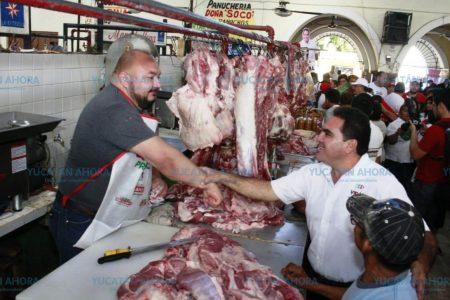Promete Jesús Vidal un mejor mercado para Valladolid