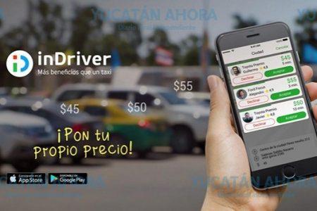 Llega a Mérida servicio de taxi donde el usuario decide cuánto paga