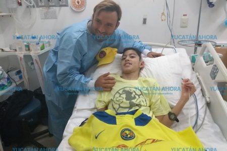 Niño atropellado en Los Héroes comienza su rehabilitación en el CRIT