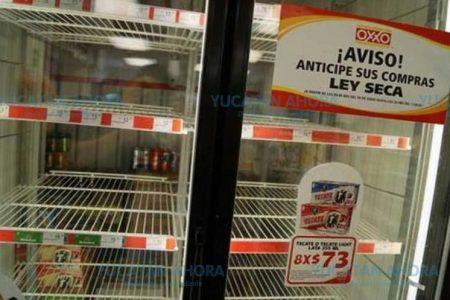 Inminente ley seca en Yucatán por las elecciones del 1 de julio
