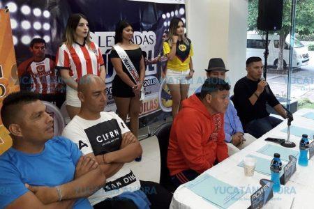 Leyendas de Chivas y América prometen partido histórico en Mérida