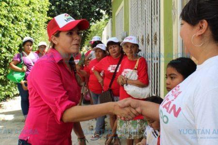 Soy mujer trabajadora y de manos limpias, dice Linett Escoffié en Las Águilas