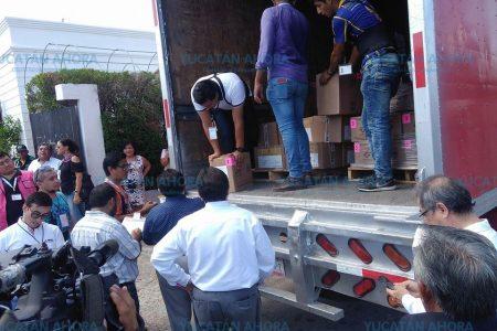 Llegan a Yucatán las boletas para las elecciones del 1 de julio