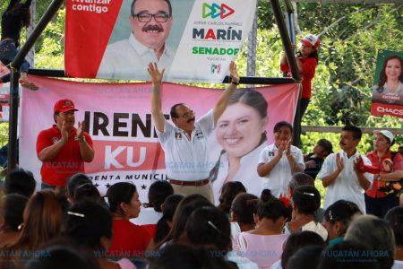 Ramírez Marín, de gira por el sur de Yucatán