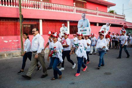 Vecinos de Mérida le abren sus puertas a Ramírez Marín