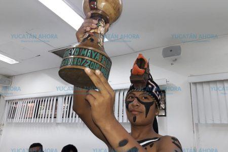 Anuncian Copa internacional del juego de pelota maya