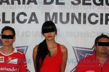 Detienen a actriz que posó sin ropa en el Centro Histórico de Mérida