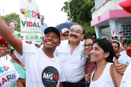 Refrenda Ramírez Marín su compromiso de apoyar la economía de los yucatecos