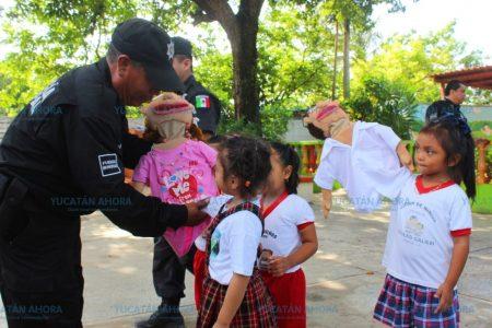 Desde el jardín de niños empiezan a prevenir el bullying en Kanasín