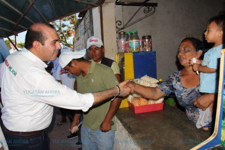 Confía Felipe Cervera en que sus resultados y experiencia lo lleven al Congreso