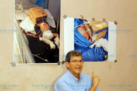 Patricio Patrón quiso 'chamaquear' a los yucatecos con foto de Venezuela