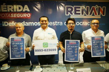 Renán Barrera pide a la ciudadanía fomentar el voto libre