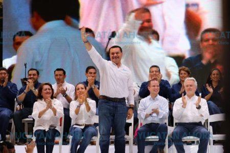Gobernaré para todos, porque todos somos Mérida: Renán Barrera