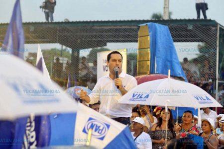 Este 1 de julio va a ganar el Yucatán que no se conforma: Vila Dosal