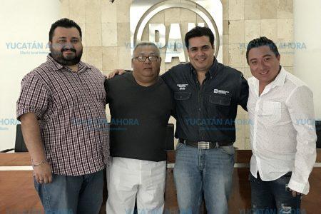 Aspirantes a regidores del PRD se suman a la candidatura de Renán Barrera