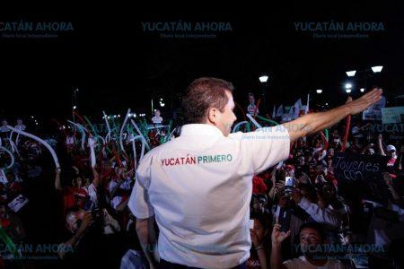 Elijamos en Yucatán el camino de los resultados: Mauricio Sahuí