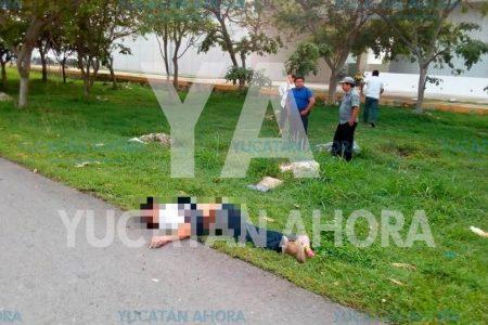 Trágico accidente en el Periférico, en el puente de Francisco de Montejo