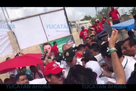 Infiltrados del PAN azuzaron las protestas en Celestún, denuncian priistas