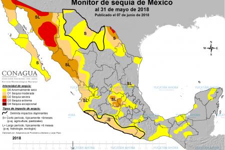 Llueve, pero Yucatán se mantiene aún 'anormalmente seco'