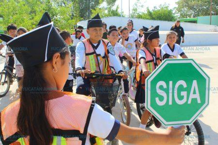 En Kanasín no bajan la guardia en inculcar educación vial