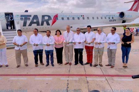 Mérida y Querétaro están conectadas desde hoy por TAR Aerolíneas