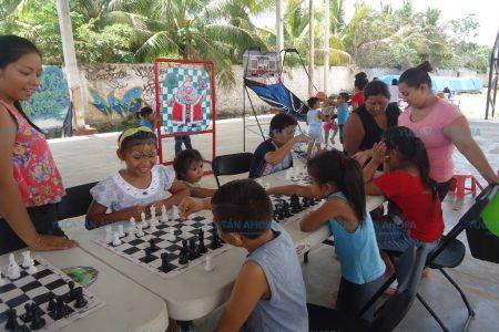 A masificar el ajedrez en Ticul