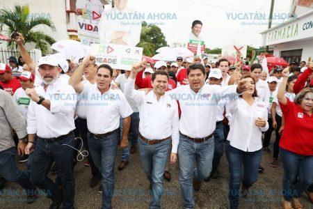 Seremos un gobierno de resultados probados: Mauricio Sahuí