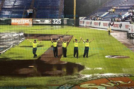 La lluvia pospone el 4º juego de la Serie de Campeonato