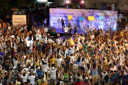 Todos tendrán cabida en la construcción del mejor Yucatán de todos los tiempos: Vila