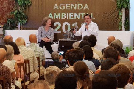 Próxima titular de la Semarnat respalda a Huacho Díaz