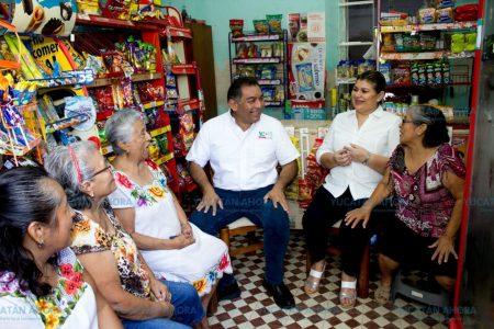 Desarrollo con justicia social para el sur de Mérida: Víctor Caballero.