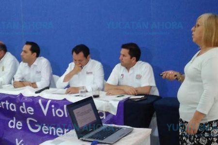 Acuerdan candidatos al gobierno accionar políticas públicas contra la violencia de género