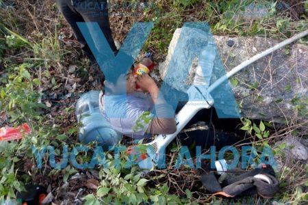 Trágica volcadura en la carretera Mérida-Cancún: un joven muerto