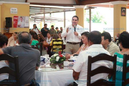 Jesús Vidal se reúne con más de 500 empresarios y profesionistas