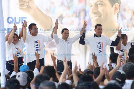 Ferrocarrileros se suman a la campaña de Mauricio Vila