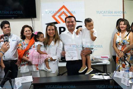 Esta victoria es de Mérida y su gente que salió a votar: Renán Barrera