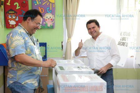Convoca Mauricio Sahuí a emitir el voto en paz