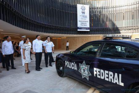 Ven en policías de Yucatán la parte fundamental para el éxito de las estrategias de seguridad