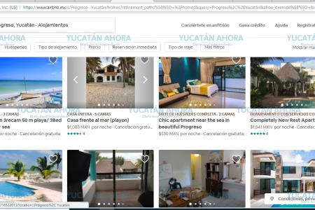 'Explota' la costa yucateca con ofertas para hospedarse por Airbnb