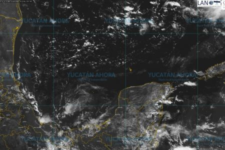 En el noreste, centro y sur de Yucatán esperen lo más fuerte de las lluvias de hoy