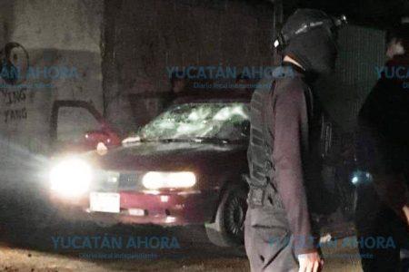 Vandalizan vehículo tras enfrentamiento de grupos de choque en Tekax