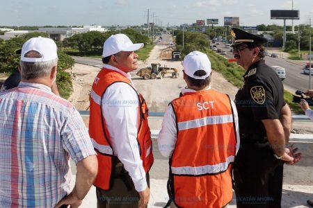 Dos meses antes de lo programado terminará la ampliación del puente a Progreso