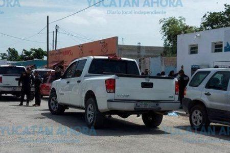 Movilización en San Lorenzo, Umán por sujetos en vehículo sospechoso cerca de una casilla