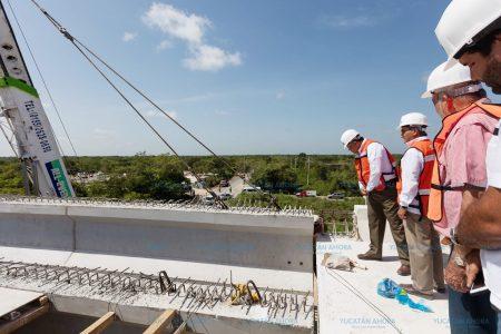 En Yucatán se construyeron 10 distribuidores viales durante seis años