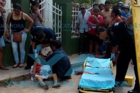 Pierden la lucha por salvarle la vida a una 'doñita' atropellada por un mototaxista