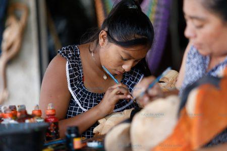 Piden artesanos de Dzityá los dejen vender Dzibilchaltún y Progreso