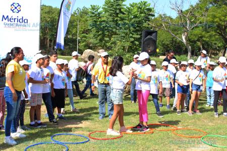 Variadas actividades del programa vacacional municipal contra el ocio