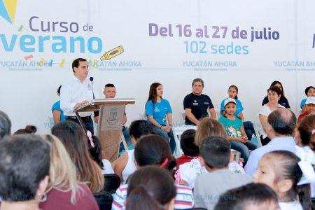 Invitan a niños y niñas de Mérida a disfrutar sus vacaciones aprendiendo